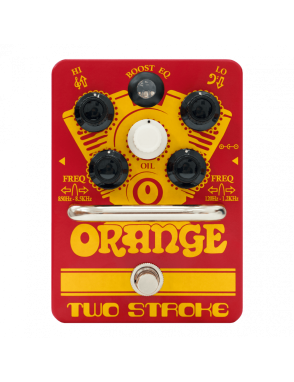 Orange® Pedal Guitarra Two Stroke Boost EQ