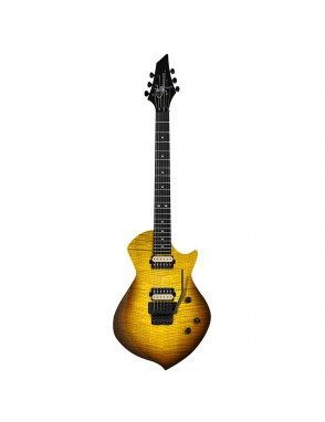Sully® Guitarra Eléctrica '71 STARLING Sunset Burst Floyd Rose con Funda