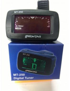 MONTAGE® Afinador Cromático MT250 de Pinza