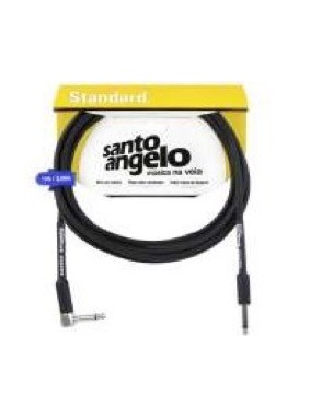 Santo Angelo® ANGEL Cable Instrumento 6,1 m Plug en L OFHC