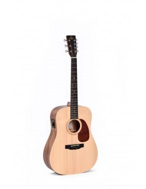 Sigma® Guitarra Eléctroacústica Dreadnought 7 Cuerdas DM7E