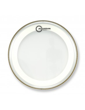 "Aquarian Drumheads® Parche Tom 10"" S2-10 SUPER 2™ Clear"