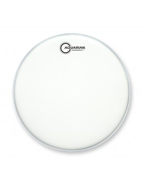 "Aquarian Drumheads® Parche Tom 10"" PF10 PERFOMANCE II Texture Coated Blanco"