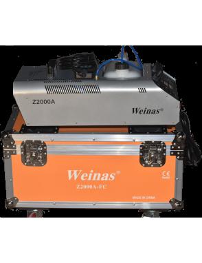 Weinas® Maquina Humo Z2000A DMX Pro Case
