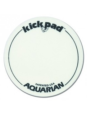 Aquarian Drumheads® Protector Parche KP1 Kick Pad™ Pedal Bombo Simple