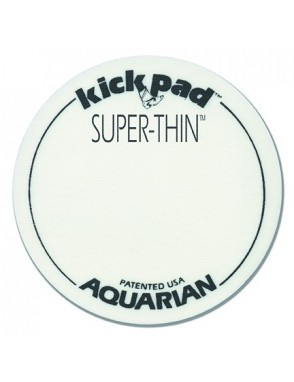 Aquarian Drumheads® Protector Parche STKP1 Kick Pad™ Super Thin™ Pedal Bombo Simple