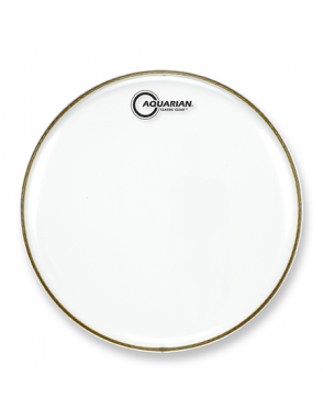 "Aquarian Drumheads® Parche Bombo 24"" CC-24 Classic Clear™"
