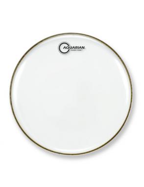 "Aquarian Drumheads® Parche Bordonero 13"" CCSN-13 Classic Clear™ Snare Transparente Resonante"