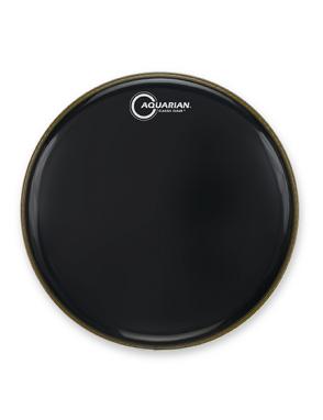 "Aquarian Drumheads® Parche Bombo 24"" CC-24BK Classic Clear™ Negro"