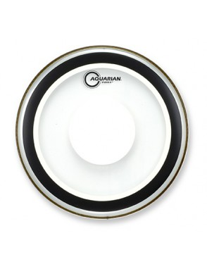 "Aquarian Drumheads® Parche Bombo 22"" SXPD-22 STUDIO-X™ Power Dot™ Clear"
