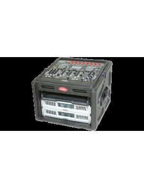 """SKB® Case Resina Audio Mixer 1SKB-R106 Rack 19"""" 6U 10U"""