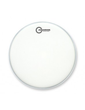 "Aquarian Drumheads® Parche Tom 8"" TC-8 Texture Coated™ Blanco Satínado"