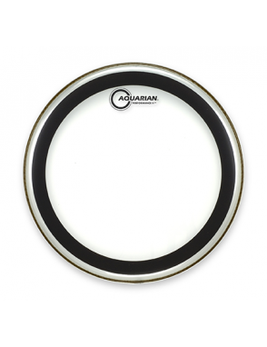 "Aquarian Drumheads® Parche Tom 13"" PF-13 PERFOMANCE II™ Clear"