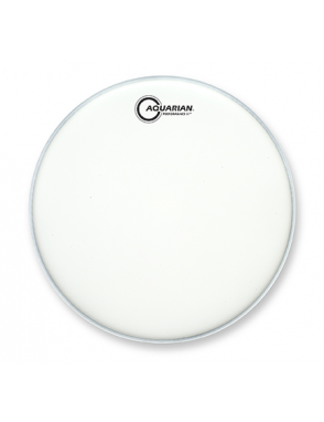 "Aquarian Drumheads® Parche Tom 13"" TCPF-13 PERFOMANCE II™ Texture Coated Blanco"