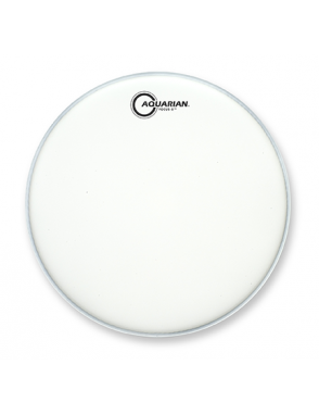 "Aquarian Drumheads® Parche Tom 16"" TCFX-16 FOCUS-X™ Texture Coated™ Blanco"