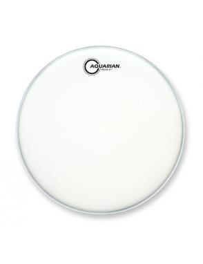 "Aquarian Drumheads® Parche Tom 13"" TCFX-13 FOCUS-X™ Texture Coated™ Blanco"