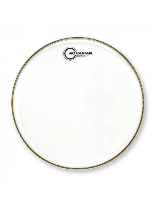 """Aquarian Drumheads® Parche Tom 12"""" RSP2-12 RESPONSE 2™ Clear"""