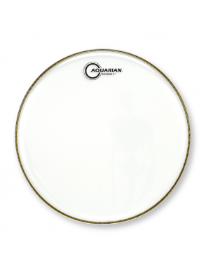 "Aquarian Drumheads® Parche Tom 13"" RSP2-13 RESPONSE 2™ Clear"