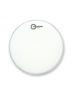 "Aquarian Drumheads® Parche Tom 13"" TCS2-13 SUPER 2™ Texture Coated™ Blanco"