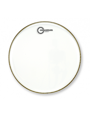 "Aquarian Drumheads® Parche Tom 13"" S2-13 SUPER 2™ Clear"