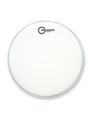 "Aquarian Drumheads® Parche Tom 13"" TCRSP2-13 RESPONSE 2™ Texture Coated™ Blanco"
