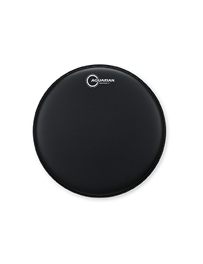 """Aquarian Drumheads® Parche Tom 14"""" TCRSP2-14BK RESPONSE 2™ Texture Coated™ Negro"""