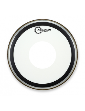 "Aquarian Drumheads® Parche Caja 12"" HE-12 HI-ENERGY™ Clear Power Dot™"