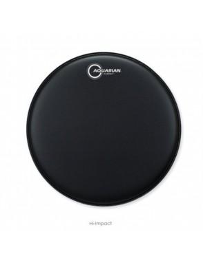 "Aquarian Drumheads® Parche Caja 14"" HIP-14BK HI-IMPACT™ Negro Coated Power Dot™"