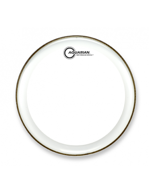 """Aquarian Drumheads® Parche Caja 13"""" NOS-13 NEW ORLEANS SPECIAL™ Clear Power Dot™"""