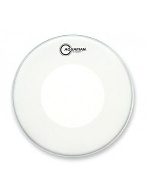 "Aquarian Drumheads® Parche Caja 13"" VEL-13 HI-VELOCITY™ Texture Coated™ Blanco"