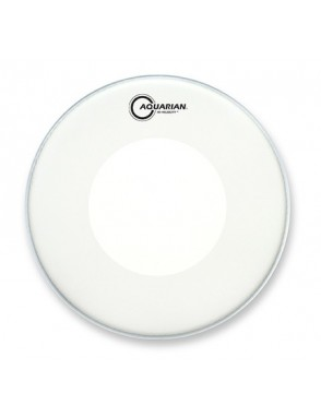 "Aquarian Drumheads® Parche Caja 14"" VEL-14 HI-VELOCITY™ Texture Coated™ Blanco"