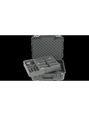 SKB® Case Resina Micrófonos SKB-3I-1813-7WMC 4 Mic inalámbrico Waterproof