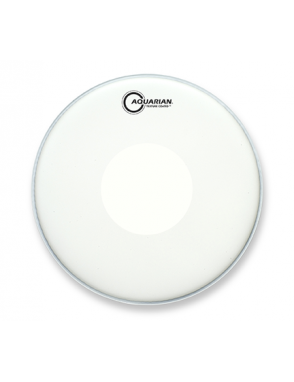 "Aquarian Drumheads® Parche Caja 14"" TCPD-14 Texture Coated™ Blanco Power Dot™"