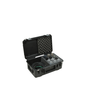 SKB® Case Resina Micrófonos SKB-3I-2011-MC12 12 Mic + cables Waterproof