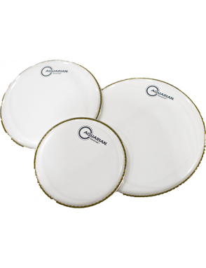 "Aquarian Drumheads® Parche Tom 14"" REF-14W REFLECTOR™ Ice White"