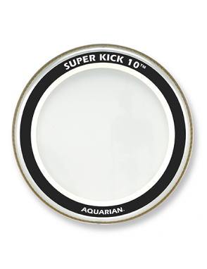 "Aquarian Drumheads® Parche Bombo 22"" SK10-22 SUPER KICK™ 10 Clear + STKP2"