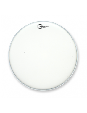 "Aquarian Drumheads® Parche Bombo 20"" TCFB-20 Full Force™ Blanco Texture Coated + Kick Pad™"
