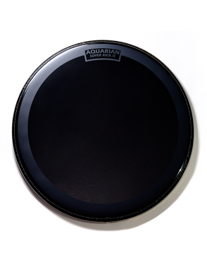 "Aquarian Drumheads® Parche Bombo 22"" REF-22SK REFLECTOR™ Negro Superkick II"