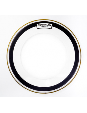 "Aquarian Drumheads® Parche Bombo 22"" IMPII-22 IMPACT II™ Clear Ring"