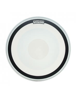 "Aquarian Drumheads® Parche Bombo 22"" IMPIII-22 IMPACT III™ Blanco Texture Coated™ Ring"
