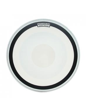 "Aquarian Drumheads® Parche Bombo 22"" IMPIII-22 IMPACT III™ Blanco Texture Coated™ Ring"