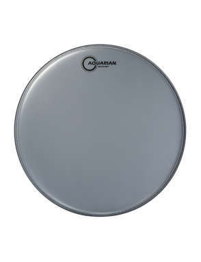 """Aquarian Drumheads® Parche Tom 14"""" TCREF-14 REFLECTOR™ Texture Coated™ Gris"""
