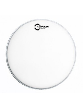 "Aquarian Drumheads® Parche Tom 14"" TCREF-14W REFLECTOR™ Texture Coated™ Ice White"