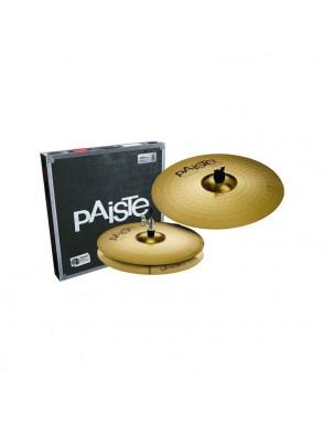 "Paiste® Platillos Hi-Hat 13""+Crash 18"" 101 Essential Set 13""/18"""
