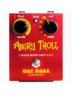 Dunlop® Pedal Guitarra WAY HUGE 101 Angry Troll Boost