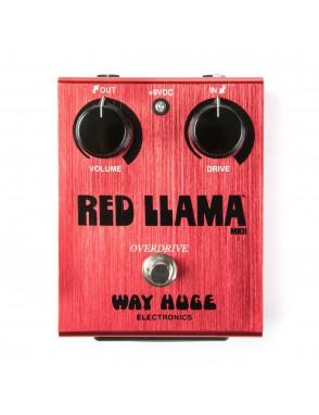 Dunlop® Pedal Guitarra WAY HUGE 203 Red Llama Overdrive