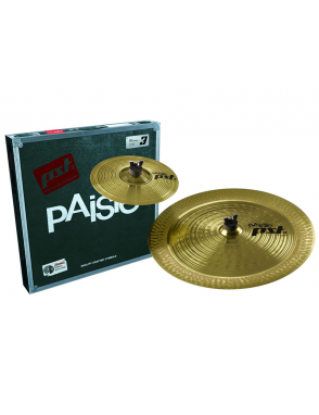 "Paiste® Platillos Set PST 3 EFX Pack  Splash 10"" China 18"""