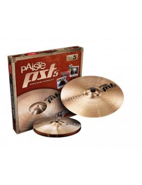 "Paiste® Platillos Hi-Hat 14""+Crash Ride 18""PST5 N Essential Set 14(Pair)/18"