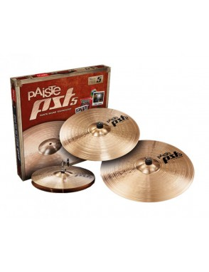 "Paiste® Platillos Hi-Hat 14""+Crash 16""+Ride 20"" PST5 N Universal Set"