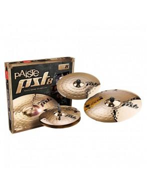 "Paiste® Platillos Hi-Hat 14""+Crash 16""+Ride 20"" PST8 Universal Set"